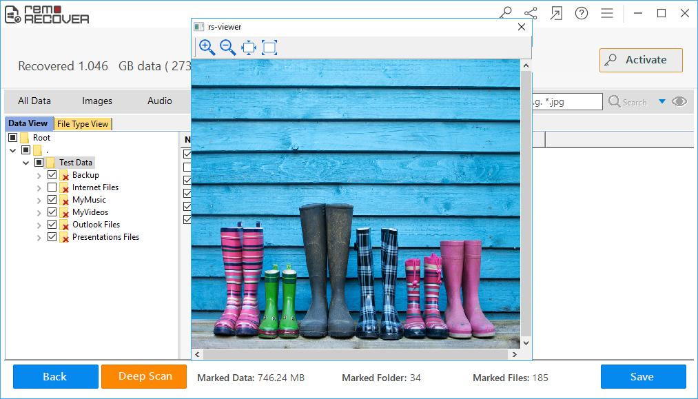Recuperar dados de Maxtor Shared Storage II - opção de visualização